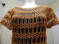 Blusa Lazos de Cadenas Crochet - YouTube