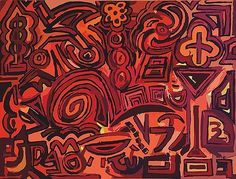 Red symbols by Ludovico Misino
