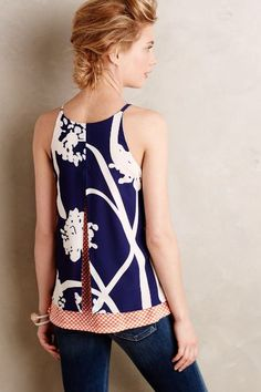 Layered Swing Tank - anthropologie.com