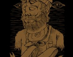 "Check out new work on my @Behance portfolio: ""bearded weird"" http://be.net/gallery/43672883/bearded-weird"