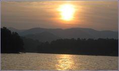 Sunset At Lake Burton...Georgia