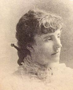 Frances Hodgson Burnett age 22