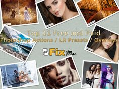 Top 11 free and paid photoshop actions, LR presets, and overlays Photoshop Overlays, Free Photoshop, Photoshop Actions, Smooth Skin, Lightroom Presets, Pop Art, Software, Blog, Photography