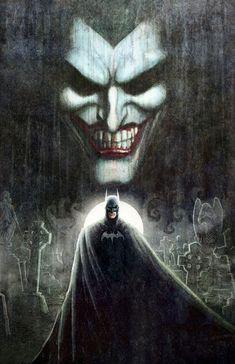 Batman and The Joker by Nathan Szerdy