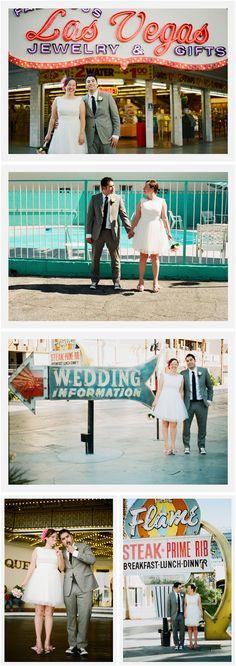 vintage vegas vows | little vegas wedding :: las vegas wedding blog