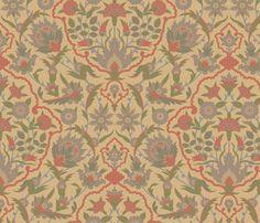 Serpentine607a fabric by muhlenkott on Spoonflower - custom fabric