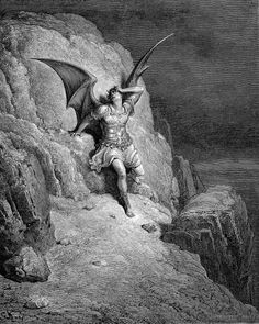 "Gustav Dore: Illustrations of ""Paradise Lost"""