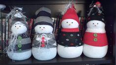 Sock Snowmen!!