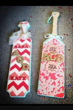 This is like the 5th paddle I've pinned with coral print...