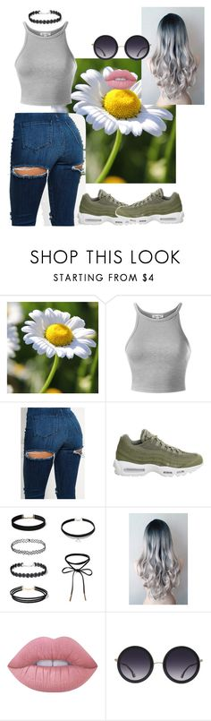 """""""STORM"""" by amir-fantastic ❤ liked on Polyvore featuring NIKE, Lime Crime and Alice + Olivia"""