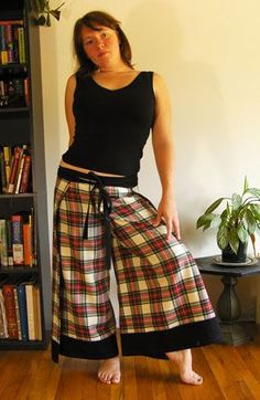 Easy Breezy Wrap Pants Tutorial...I would like to try to make these...