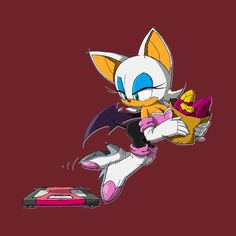 Check out this awesome 'Rouge+the+Bat' design on Sonic 3, Sonic Fan Art, Shadow And Rouge, Rouge The Bat, Sonic Franchise, Amy Rose, Miraclous Ladybug, Rogues, Spirit Animal