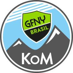 GFNY Brasil King of the Mountain logo