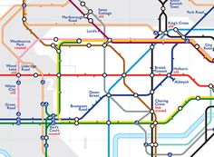 Ghost stations on the london tube map