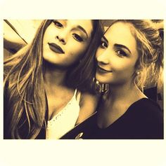Ariana and her bestfriend