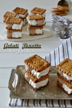 Sweet Recipes, Cake Recipes, Dessert Recipes, Biscotti Cookies, Cake Cookies, Gelato Recipe, Yogurt Ice Cream, Cheesecake Desserts, Homemade Ice Cream