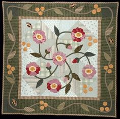 Types of Quilts. I haven't read all of the information yet, but these are options to possibly try in the future :) (Pat Sloan Wild Rose)