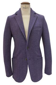 \\ Rubinacci lilac flannel