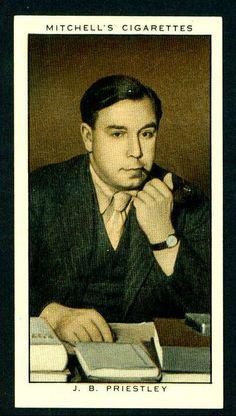 Cigarette Card - J.B.Priestley by cigcardpix, via Flickr