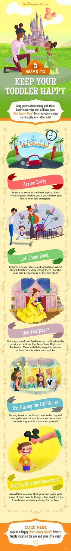 5 ways to keep your toddler happy at Walt Disney World!    Disney Vacation…