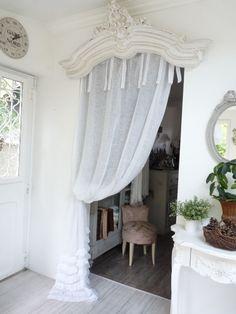 Rideaux sur pinterest traitements pour fen tres franges for Les rideaux de la cuisine