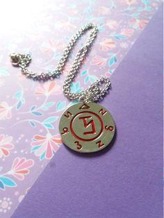 To banish an angel necklace, Soprannaturale, esoteric symbol di Dreamspotions su…