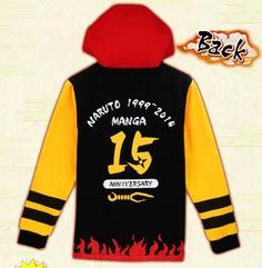 Naruto black zip hoodie for men Uzumaki Naruto cosplay