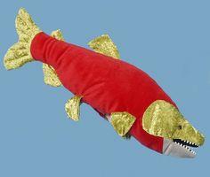 "21"" Sockeye Salmon Puppet"