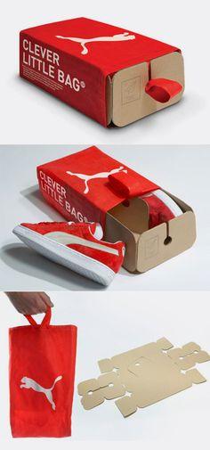 Yves Behar- fusepeoject: packaging intelligent et réutilisable pour la marque Puma