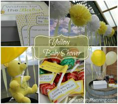 Yellow Baby Shower | Smart Party Planning
