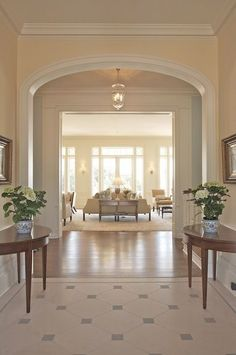 Simple elegance. Fabulous wood work and beautifully proportioned areas