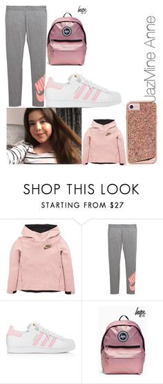 """Untitled #137"" by arielxrebecca on Polyvore featuring NIKE, adidas and Case-Mate"
