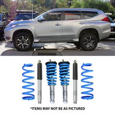 """SELECT 4WD ULTIMATE SUSPENSION 2"""" LIFT KIT- PAJERO SPORT – Select 4WD Mitsubishi Pajero Sport, Mitsubishi Cars, Land Rover V8, 4x4 Tires, 4x4 Wheels, Montero Sport, Suv Models, Nissan Xterra, Rottweiler Dog"""
