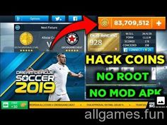 Easy way to hack dream league soccer 2019 unlimited Coins without lucky , No Root & No Mod Apk, DLS 19 hack patcher. Liga Soccer, Offline Games, Point Hacks, Play Hacks, Money Games, Soccer Games, Soccer Sports, Game Resources, Hack Online