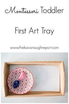 First Art Tray Montessori Young Toddler Week 11 A Montessori toddler's first art tray a look at how we introduce art supplies in a Montessori home The post First Art Tray Montessori Young Toddler Week 11 appeared first on Toddlers Ideas. Montessori Trays, Montessori Classroom, Montessori Toddler, Montessori Activities, Classroom Activities, Preschool Activities, Stages Of Baby Development, Family Child Care, Baby Play
