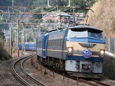 Fujibusa at famous S curve in Kanagawa Japan