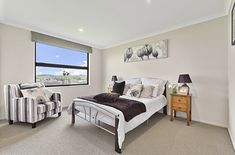 Double Bedroom | Natural Colours | Bedroom Design | Interior Decorating Interior Decorating, Interior Design, Double Bedroom, Bedroom Inspiration, Colours, Natural, Furniture, Home Decor, Nest Design