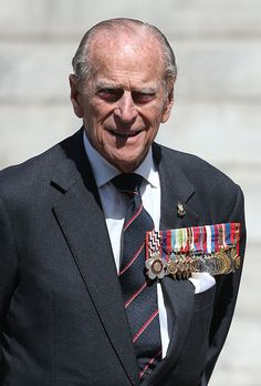 Prince Philip, Duke of Edinburgh leaves the 70th anniversary of VJ Day service of commemoration at St Martin-in-the-Fields on August 15, 2015 in London, England