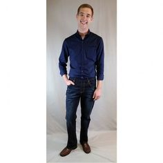 NBZ Jeans for men feature an elastic waist, and no button or zipper. Be confident. Be independent. Wear NBZ. www.nbzjeans.com