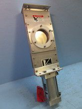 "New Salina Vortex 5"" B05 Knife Gate Valve w/ Pneumatic Air Actuator DVC3.5x5 (TK2179-1). See more pictures details at http://ift.tt/2cFpS0f"
