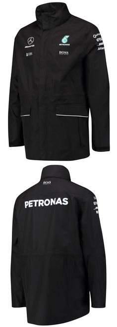 Racing-Formula 1 2876: Mercedes Benz Formula 1 Amg Petronas Motorsports Men S Team Rain Jacket -> BUY IT NOW ONLY: $179.99 on eBay!