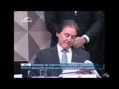 Gleisi defendendo aposentado