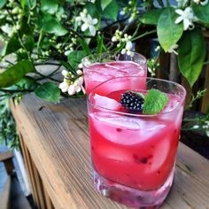 Blackberry Pineapple Smash