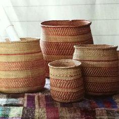 Cool handwoven baskets