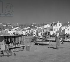 """Results for """"mykonos """" Mykonos Island, Mykonos Greece, Athens Greece, Old Time Photos, Old Pictures, Greece History, Greece Photography, Mediterranean Architecture, Greek Isles"""