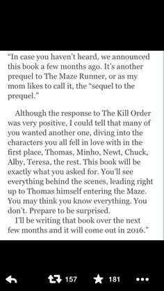 The sequel to the prequel I AM SOOOO EXCITED FOR THIS!!!!!!!!!!!!!<<<Great! WE FANGIRLS ARE ALL BLOODY INSPIRED!