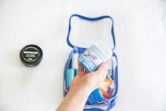 What to Pack in Your Toiletry Bag: Travel Toiletry Essentials – EzPacking, Inc Carry On Packing, We Carry On, Suitcase Packing, Carry On Suitcase, Carry On Luggage, Packing Tips, Toiletries List, Travel Toiletries