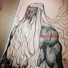 """""""#mohan #ink #drawing #copic #marker"""""""