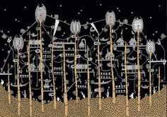 Invisible City of Zenobia by Architect Karina Puente