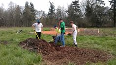 These young men, from Newberg HS moved a lot of material! Spring- 2013